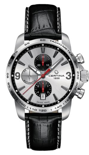 [Amazon.es - Spanien] Herren Automatik Uhr Certina DS Podium Chronograph C001.427.16.037.01 Saphirglas entspiegelt, 10 bar, 45h Gangreserve
