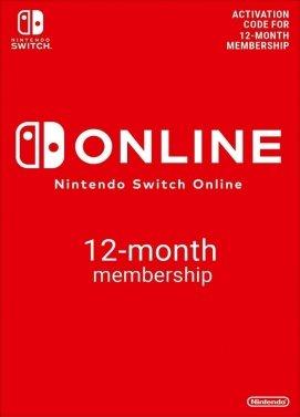 Nintendo Switch Online Mitgliedschaft 12 Monate