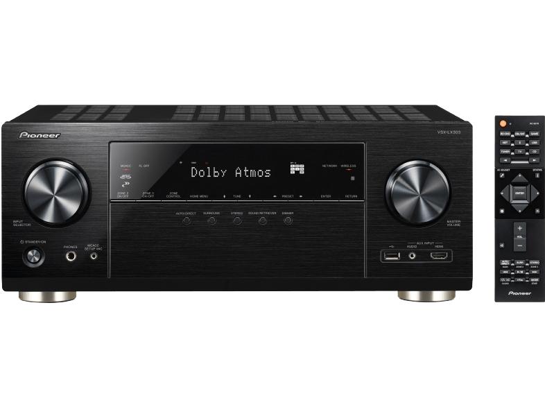 [Mediamarkt]Pioneer VSX-LX303 9.2 AV Receiver 9x 170Watt Dolby Atmos DTS:X 7.2.2 / 5.2.4 in 2 Farben für je 569,-€