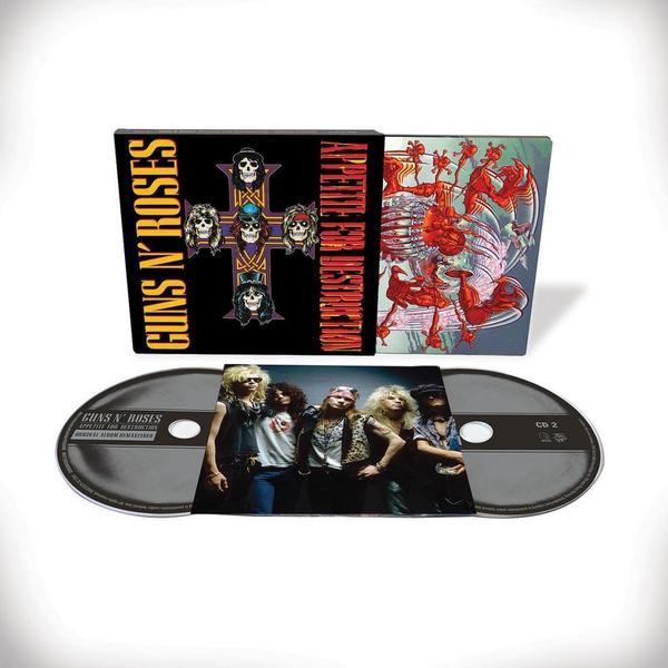 Guns N. Roses Appetite For Destruction (2CD Deluxe Edition). [Thalia]