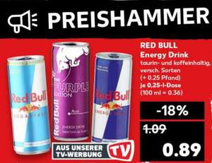 Kaufland - 06.12 - 12.12 Red Bull Energy Drink