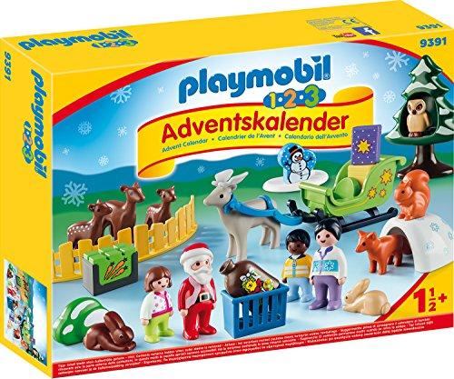 (Amazon Prime) Playmobil Adventskalender Waldweihnacht der Tiere 9391 für 10,99€