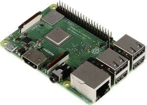 Raspberry Pi 3 Model B+ 1GB für 29,94€ [Conrad]