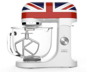 [b4f] Kenwood Küchenmaschine KMX50 in Union Jack Optik.