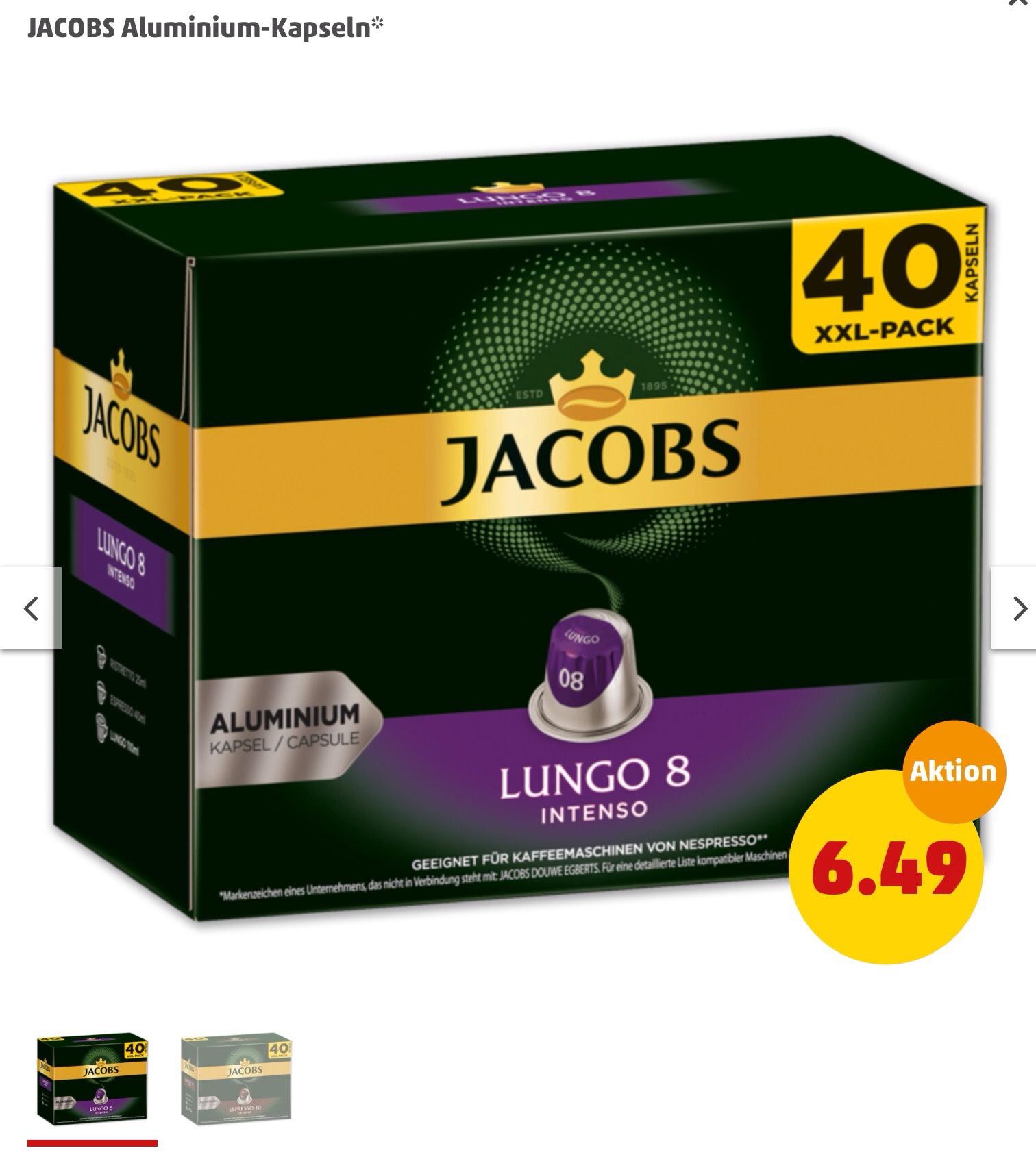 [Penny] Jacobs Nespresso 40er Pack //Update: am Framstag bei Lidl