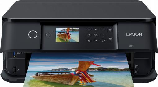 Expert: Epson Expression Premium XP-6100 3in1 Tintenstrahldrucker Farbe Wi-Fi Duplex USB (Schwarz)