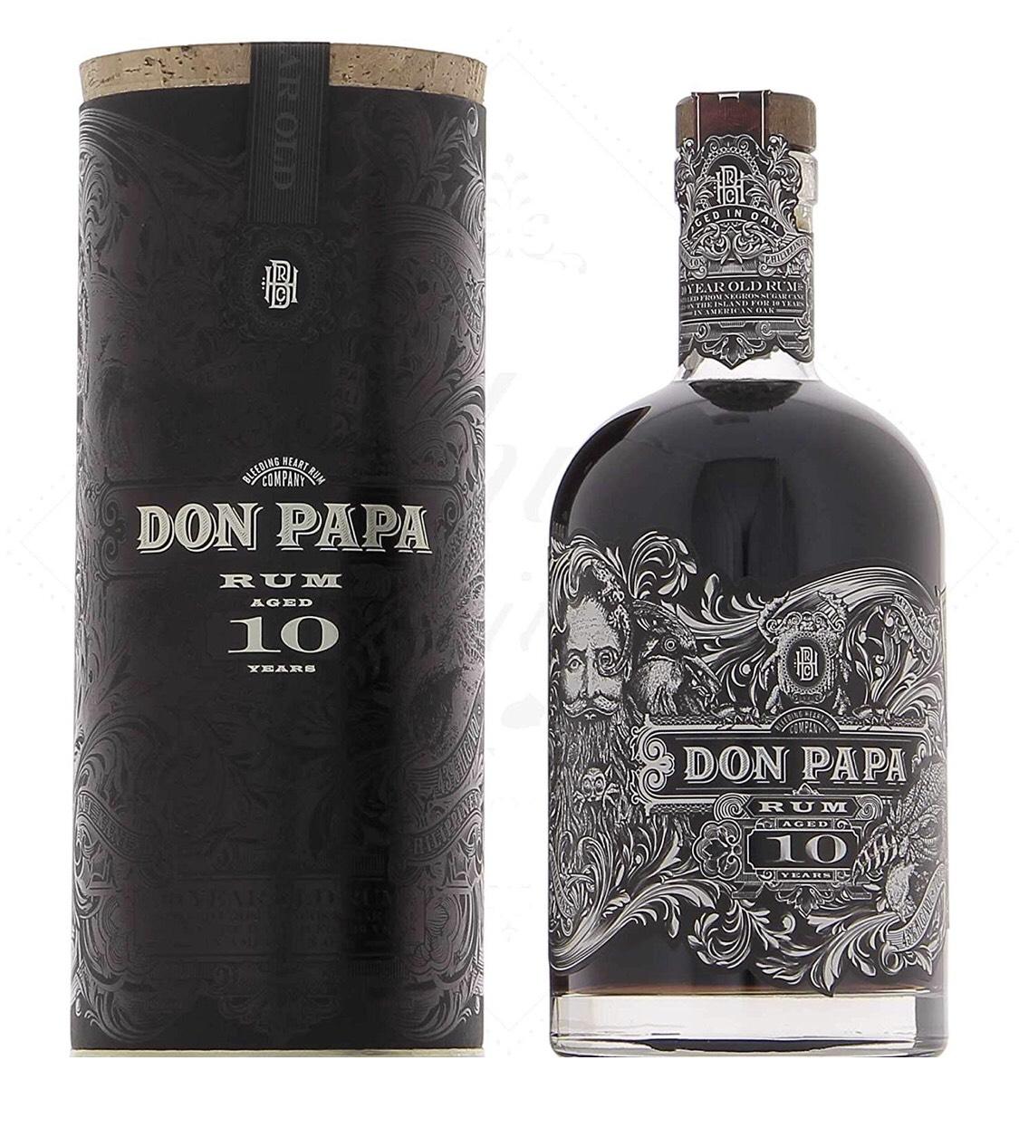 Don Papa 10 Jahre Rum, 0,7l