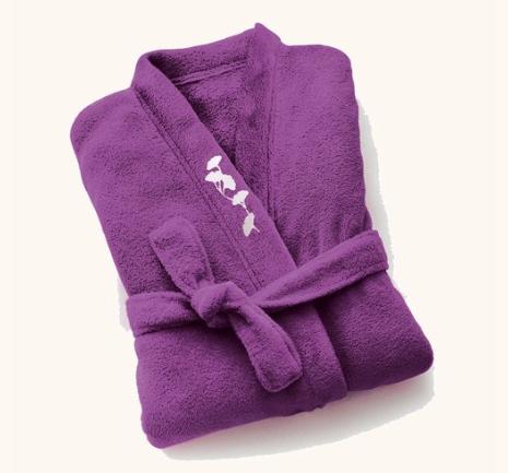 Bademantel + Geschenk nach Wahl + Mini-Duschgel bei Yves Rocher