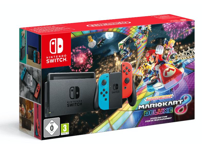 Switch mit Mario Kart 8 Deluxe