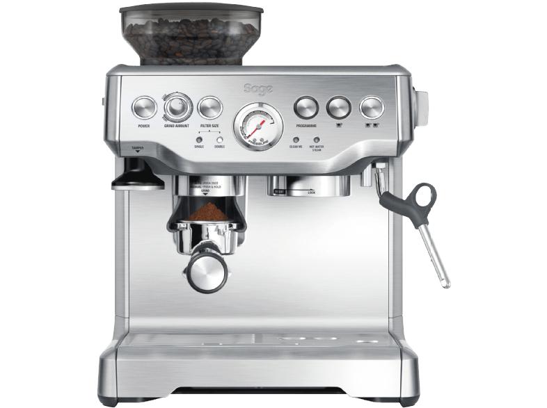 Media-Markt Kaffee-Deals: SAGE SES875BSS2EEU1A The Barista Express Espressomaschine Silber