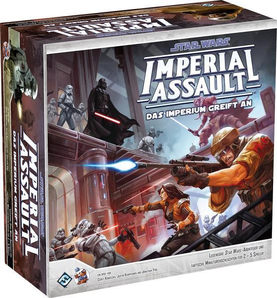 18% auf Spielwaren und Brettspiele, z.B. Star Wars Imperial Assault