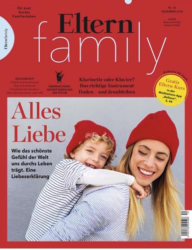 Eltern Family Jahresabo (12 Ausgaben) + 50€ Amazon Gutschein als Prämie