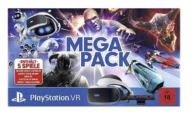 Sony PlayStation VR V2 + PlayStation Camera + 5 PS4 VR Spiele für 233€ (Saturn)