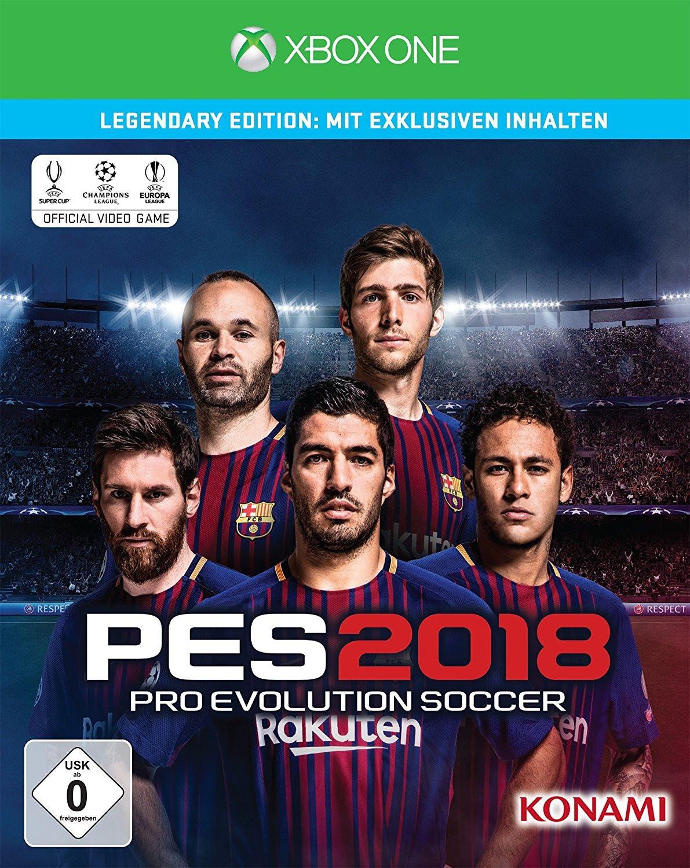 Pro Evolution Soccer 2018 Legendary Edition (Xbox One) für 13,85€ & Pro Evolution Soccer 2018 Premium Edition für 11,85€ (4U2Play)