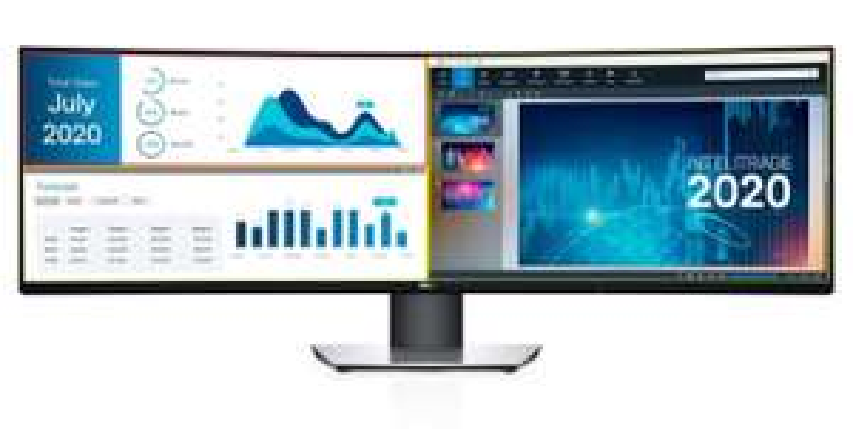 "Dell Ultrasharp U4919DW 49"" - 5.120 × 1.440- zwei WQHD-Monitore in einem - 1050€"