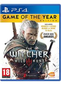 The Witcher 3 Wild Hunt - Game of the Year Edition (PS4)