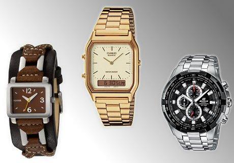 Sonderverkauf bei Amazon: Uhren bis zu 65% reduziert