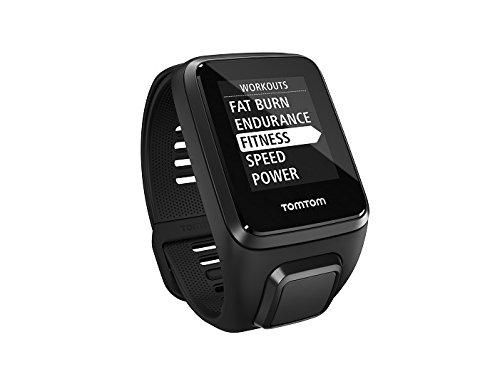 [TomTom] TomTom Spark 3 Cardio GPS-Fitnessuhr (Routenfunktion, Eingebauter Herzfrequenzmesser, Multisport-Modus, 24/7 Aktivitäts-Tracking)