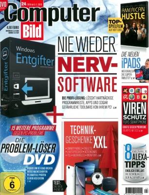 ComputerBILD [mit DVD] 136,50 Euro + 130,00 Euro Amazon Gutschein