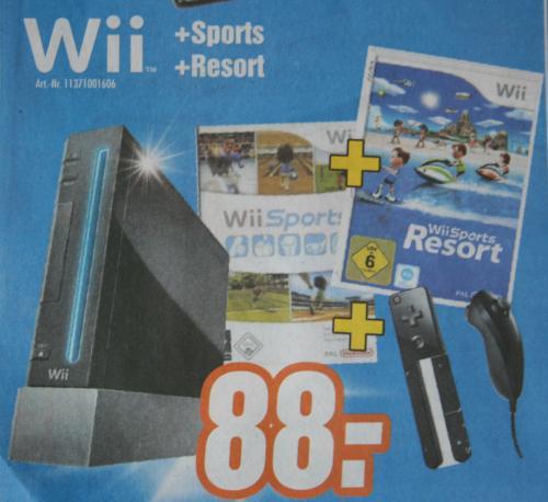 [Offline] Expert Heinze & Bolek Meiningen - Nintendo Wii + Wii Sports & Wii Sports Resort - 88€