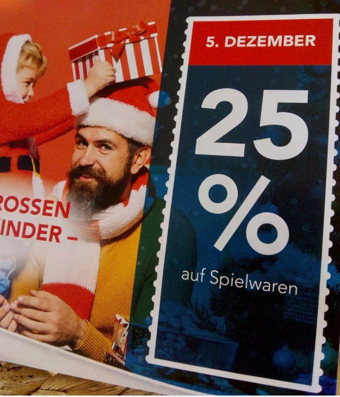 25% auf Spielwaren bei Famila Nordwest - [Oldenburg - Lokal?] am 5.12.18