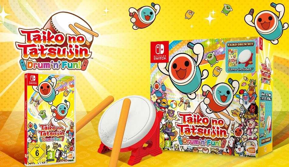 Taiko no Tatsujin: Drum 'n' Fun! - Bundle für die Switch