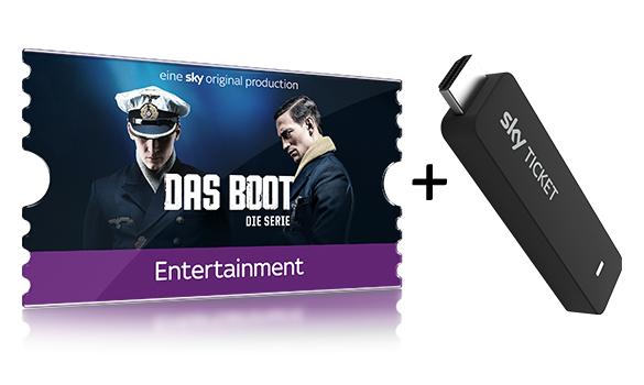 Nur Neukunden! [SKY Ticket] 4 Monate Serien oder Cinema Ticket + gratis Sky TV-Stick - NUR NOCH HEUTE!!