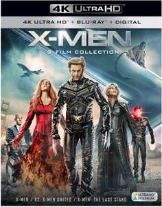 X-Men Trilogy (4K Ultra HD + Blu-ray) für 25,12€ (Zavvi)