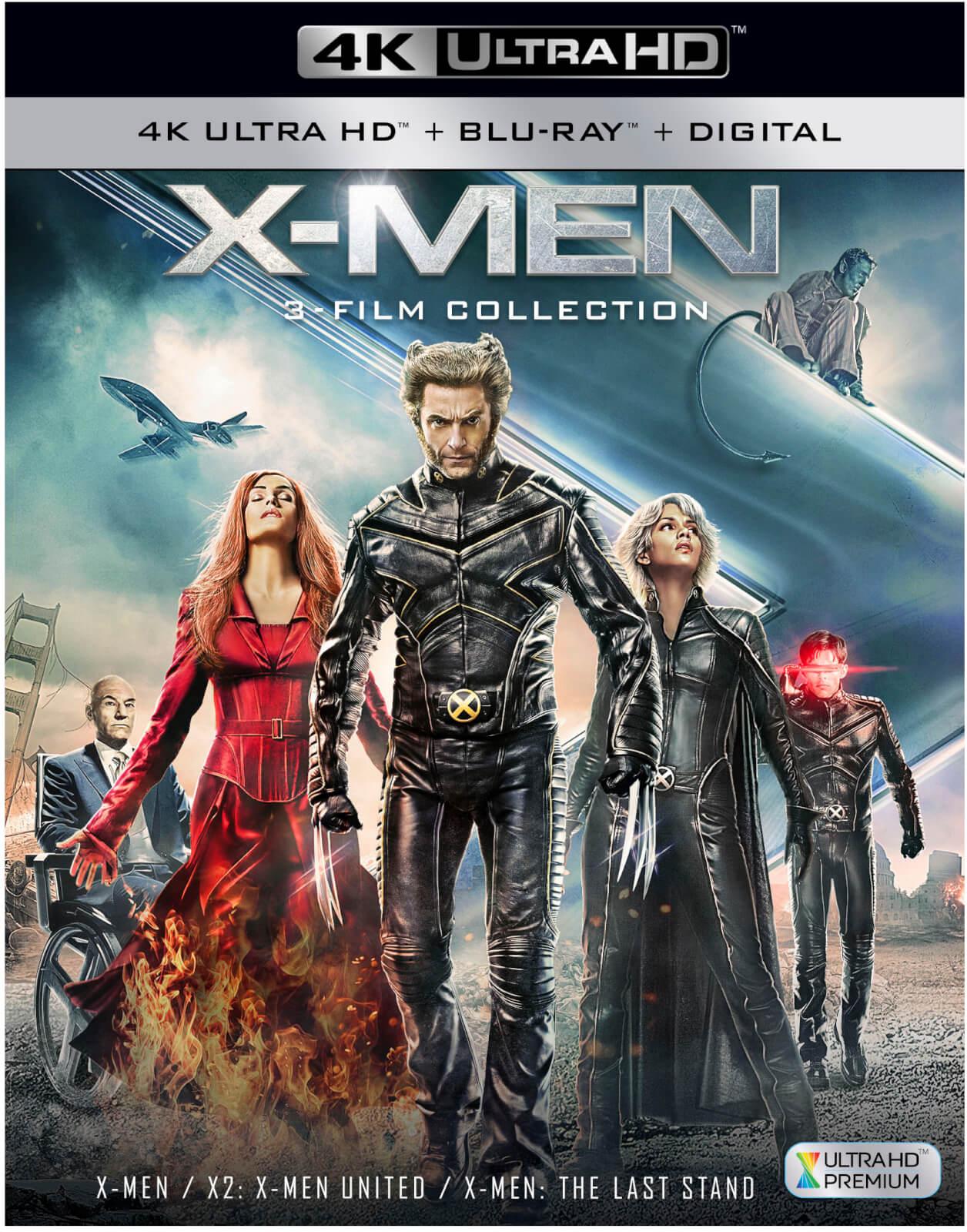 X-Men Trilogy (4K Ultra HD + Blu-ray) für 24,84€ (Zavvi)