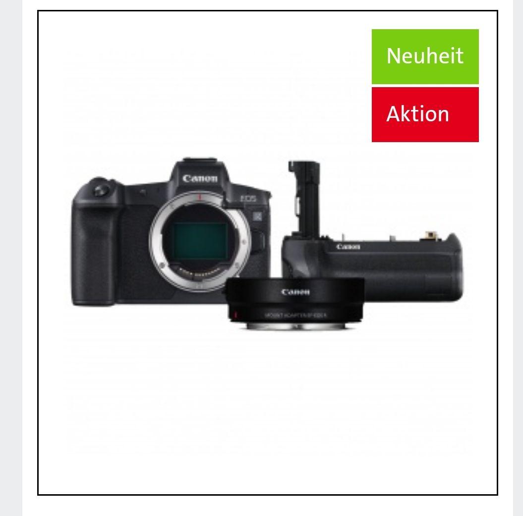 Canon EOS R incl. EF Adapter & BG-E22