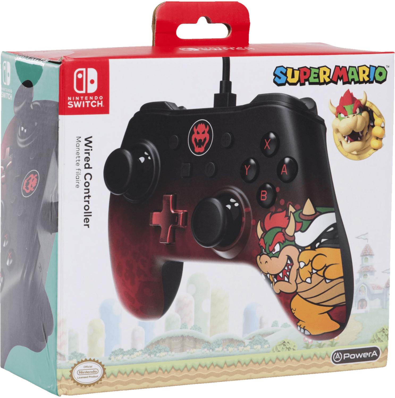PowerA Nintendo Switch Wired Controller (Bowser & Yoshi & Link & Splatoon & Donkey Kong & Mario) für je 23,99€ (GameStop)