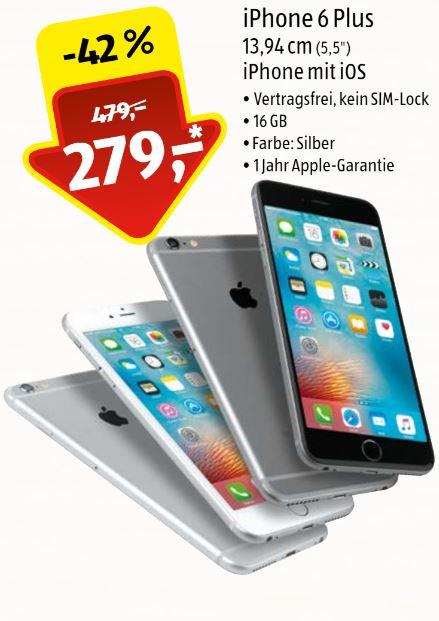 [Lokal Bonn Aldi] iPhone 6 Plus 16GB