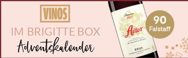 Eine Flasche Rotwein gratis - Avior Reserva 2013 [Brigitte Adventskalender]
