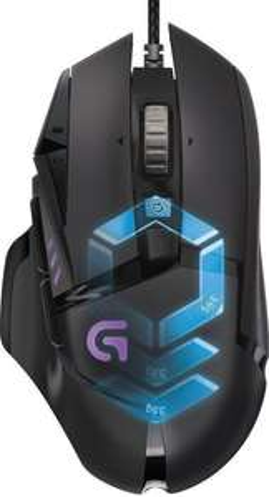 Logitech G502 Proteus Spectrum Gaming Maus für 39€ [MediaMarkt]