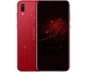 "HONOR Play - 6,3"" Dual-SIM Smartphone (64GB, 4GB RAM, Android 9, 16/2/16MP, Kirin 970, NFC, USB-C, aptX) Player Edition Rot"