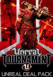 Unreal Deal Pack: Unreal 2: The Awakening,Unreal Gold,Unreal Tournament 3 Black,Unreal Tournament:Game of the Year Edition (Steam) für 2,50€