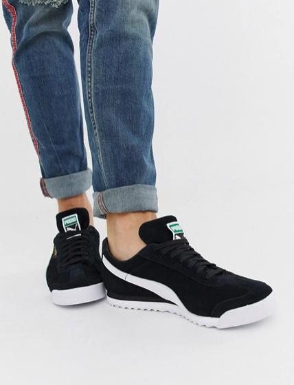 15% Rabatt auf alles bei [Asos] z.B. Puma Roma Wildleder Sneaker für 36,54€
