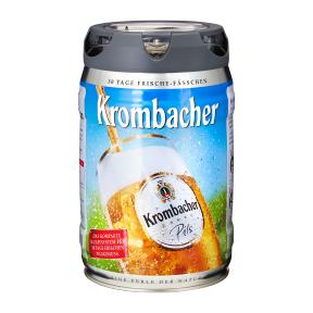 [Aldi Nord] Krombacher Pils-Fass  Frischefass; pfandfrei, 5L (7.+8.12)
