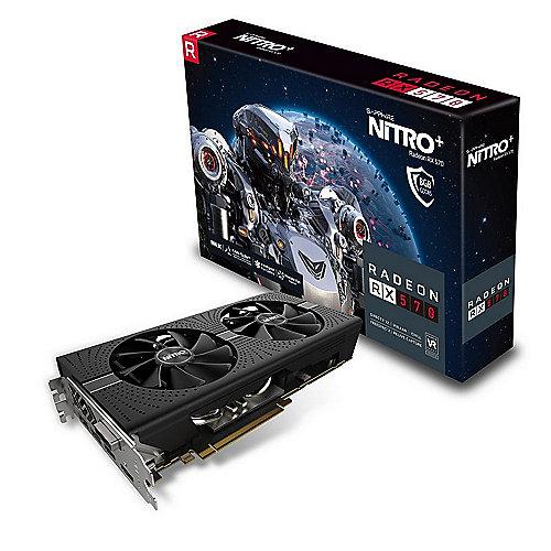 Sapphire Nitro+ Radeon RX 570 8GD5 + 2 Spiele für 164,90€ [Cyberport]