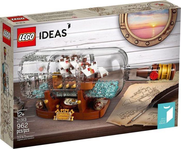 (Lokal Intertoys Herne Innenstadt) LEGO Ideas - Schiff in der Flasche 21313