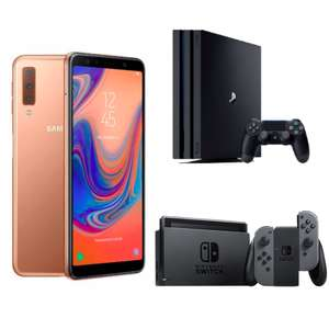 Vodafone Smart L+ (5GB LTE bzw. 10GB für Young) für mtl. 36,99€ + z.B. Samsung Galaxy A7 + z.B. Nintendo Switch od. PS4 Pro 1TB