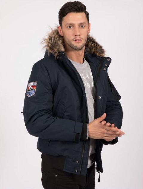 Tokyo Laundry Wintersale, z.B. Moorgate Taslon Coat Herren Jacke 1J11339