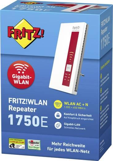 AVM FRITZ!WLAN Repeater 1750E WLAN Repeater 1.75 GBit/s 2.4 GHz, 5 GHz (VSK frei)
