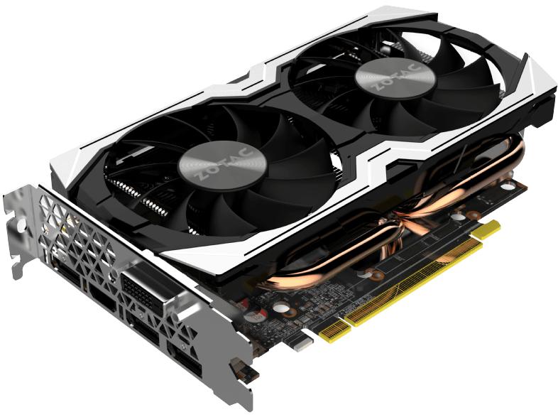 Zotac GeForce GTX 1070 Mini 8192MB GDDR5 (inkl. Code für Monster Hunter: World & Fortnite Counterattack Set)