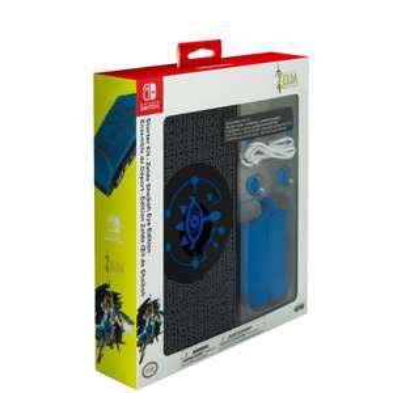 Nintendo Switch Zelda Starter Kit Sheikah Eye Edition für 19,99€ (GameStop)