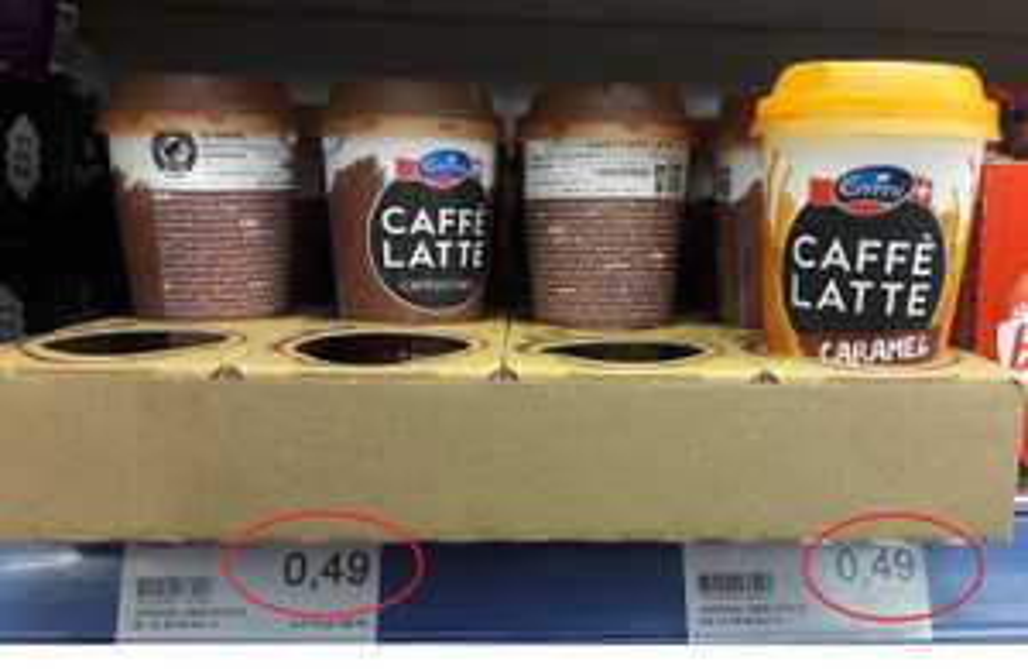 [JAWOLL+Coupies][lokal HP?] 4 Stk. Emmi CAFFÈ LATTE oder CHOCO LATTE - gratis bzw. 4c Gewinn