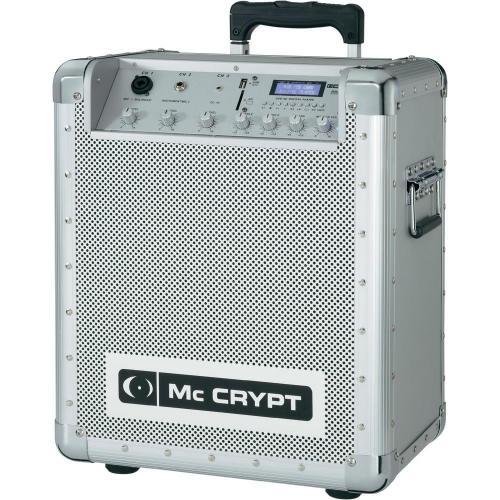 conrad B-Ware / Mc Crypt PPA8 Mobile PA-Anlage / Mobile Musikbox mit Akku und Rollen / 89€ anstatt 179€