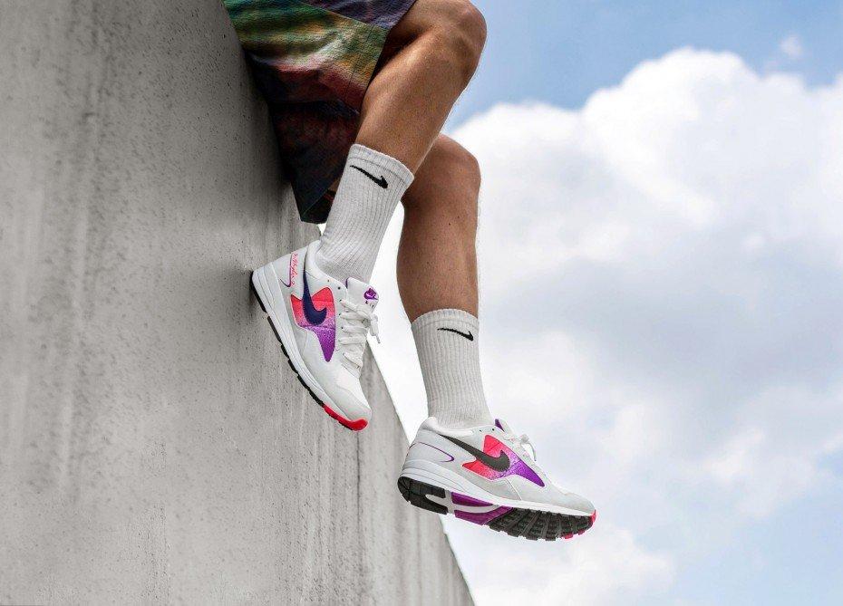 Nike Air Skylon II (White / Court Purple - Solar Red) inkl. Versand