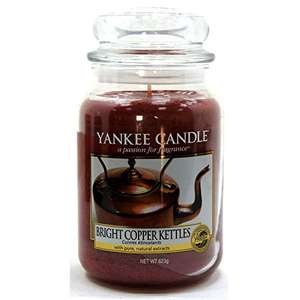 Duftkerze Yankee Candle Housewarmer Bright Copper Kettles (623 g)