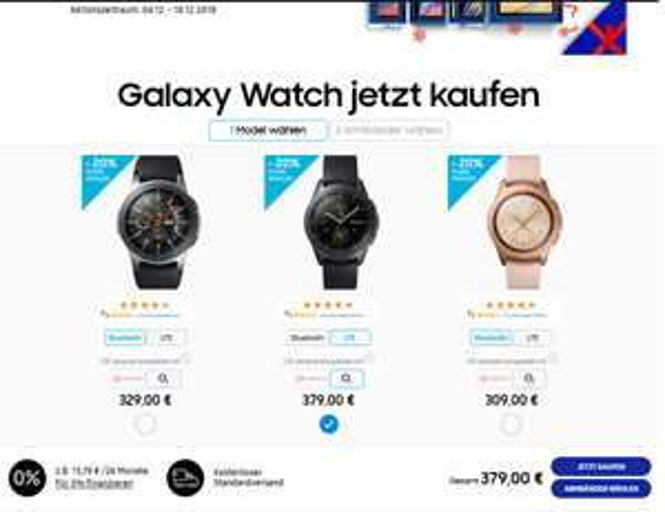 Galaxy Watch 42 mm LTE